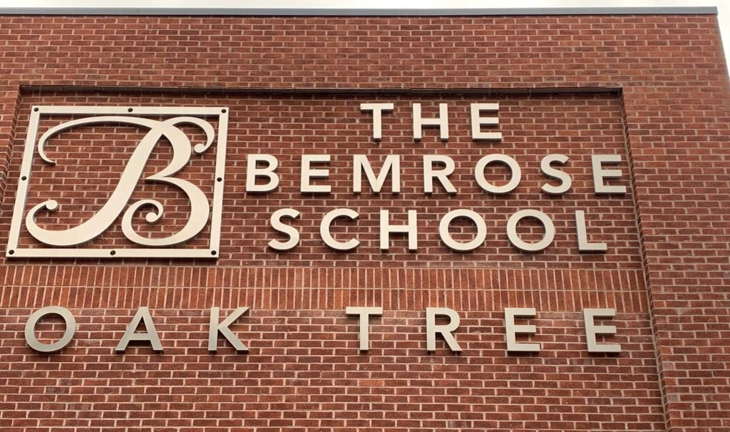 Bemrose School signage